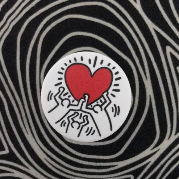 Keith Haring Pop Socket With Adhesive